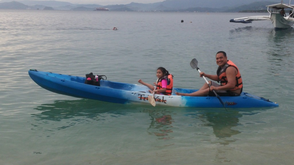 camayan beach kayak